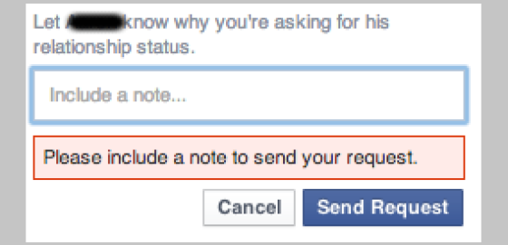 Ask request screenshot