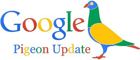 L'algoritmo google pigeon raggiunge l'europa