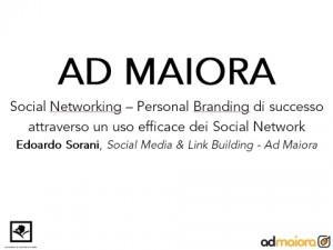 Corso Social Networking