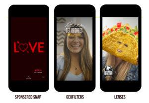 La pubblicità sul social Snapchat